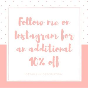 10% off? Follow me Instagram @boutkhang